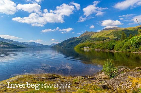 5* Loch Lomond caravan stay