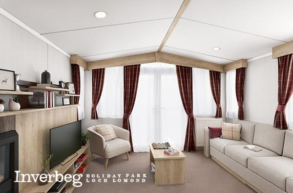 5* Loch Lomond caravan stay