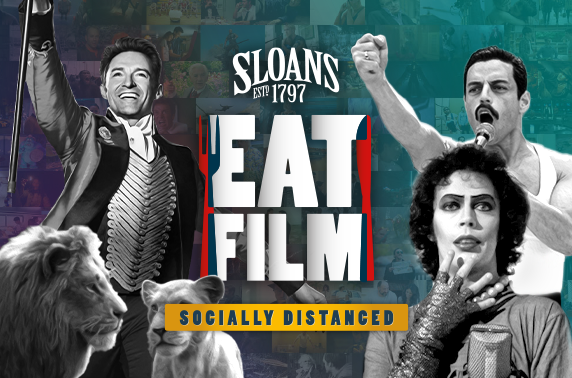 EatFilm at Sloans (socially distanced style)