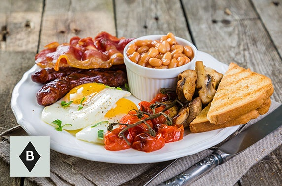 Brunch or lunch at Basils, Newhaven
