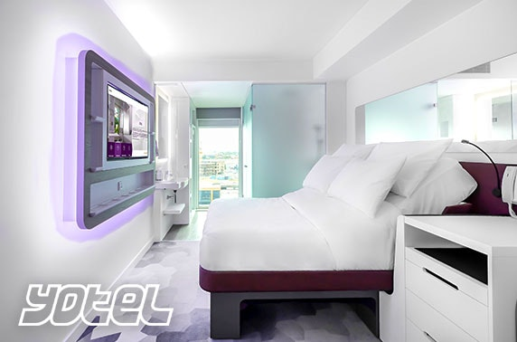Brand new YOTEL Glasgow stay - from £59