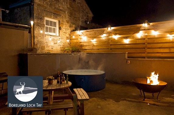Perthshire self-catering group stay with hot tub