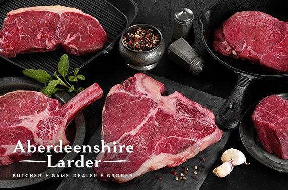 Aberdeenshire Larder voucher spend or food pack