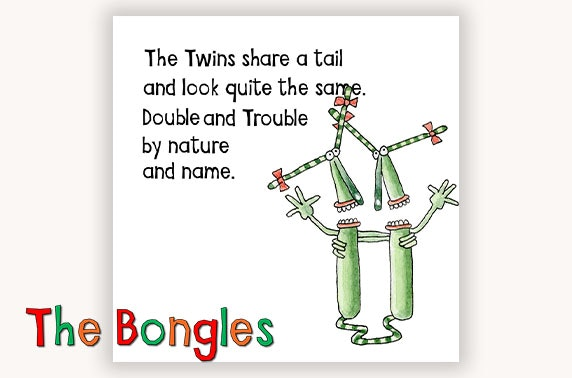 The Bongles Monster Takeaway