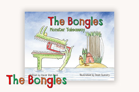 Full collection of The Bongles: Pet Washing Machine, Monster Takeaway & TV Dinner