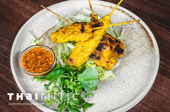 Thai takeaway - from £9.50pp