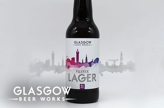 Brand new Pilsner Lager from Glasgow Beer Works