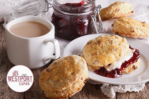 Afternoon tea, Cupar - £7pp