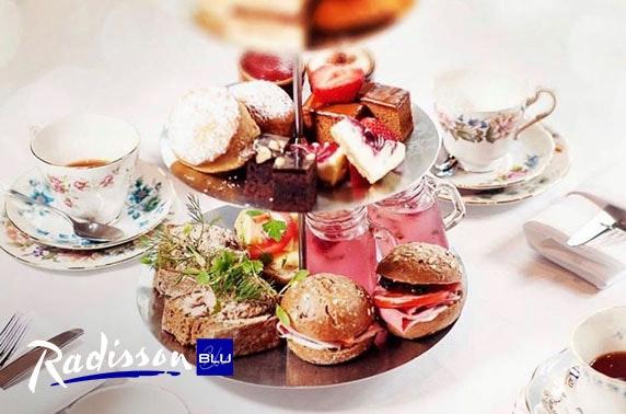 4* Radisson Blu afternoon tea, Royal Mile