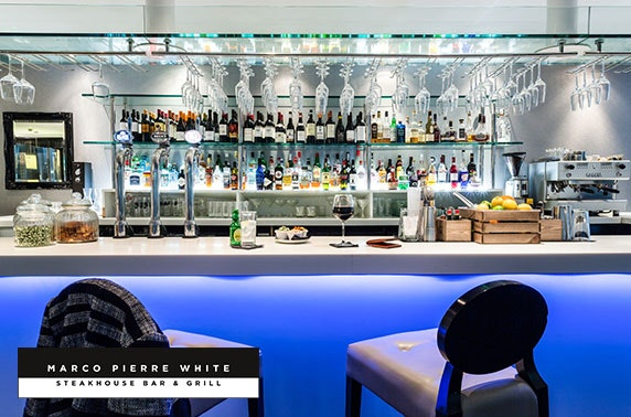 Marco Pierre White dinner & overnight, Newcastle