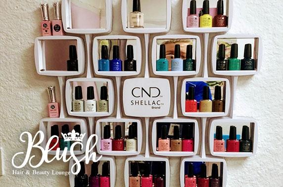 Massage or Shellac nails, Chorlton