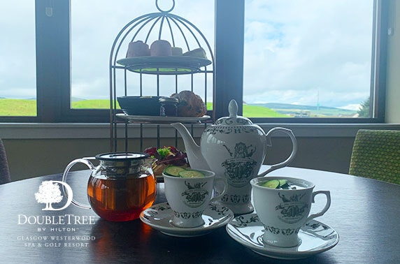 4* Westerwood Hotel spa day and afternoon tea