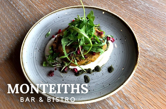 Monteiths Bar & Bistro dining and wine