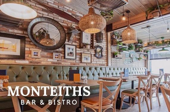 Monteiths Bar & Bistro brunch - from £6pp
