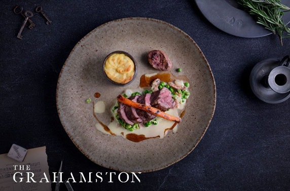 The Grahamston dining at 4* Radisson Blu