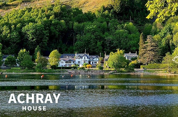 Award-winning Achray House stay
