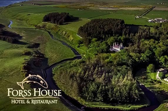 2 AA Rosette 4* Forss House, Thurso