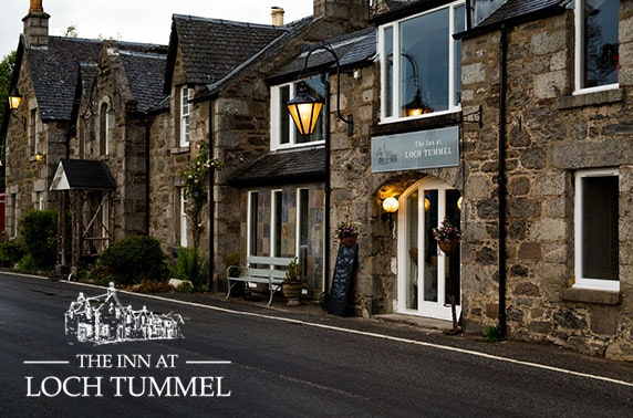 The Inn at Loch Tummel, Perthshire dining