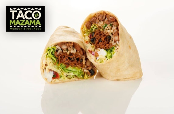 Taco Mazama - burritos, fajitas or quesadillas!