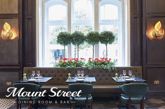 Brand new Mount Street Dining Room & Bar