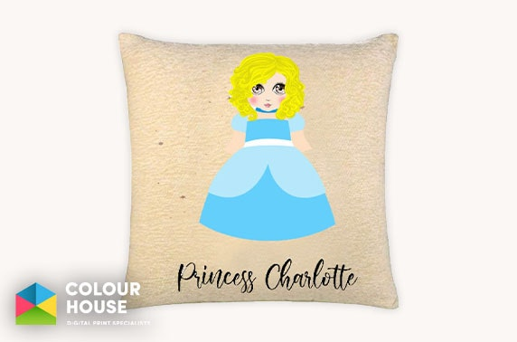 Personalised children's items from £8