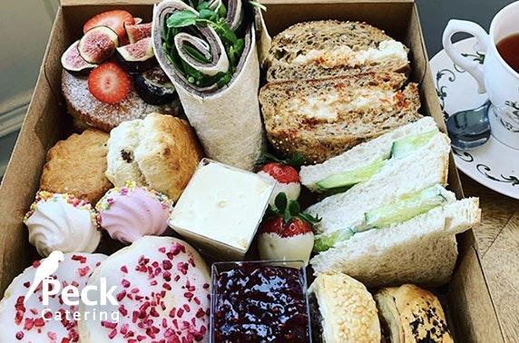 Afternoon tea for two or grazing board delivered