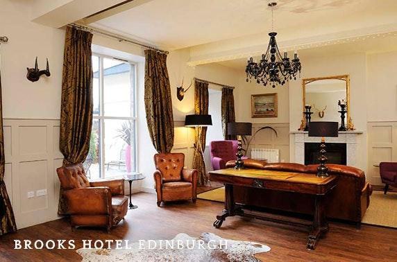 Brooks Hotel stay, Edinburgh West End