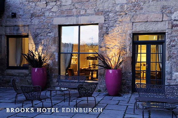 Brooks Hotel stay, Edinburgh West End