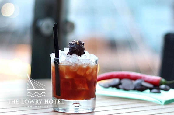 5* The Lowry Hotel cocktails or dining