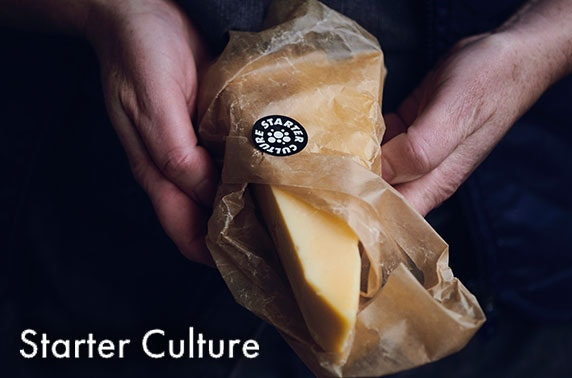 Starter Culture cheese hampers - £19