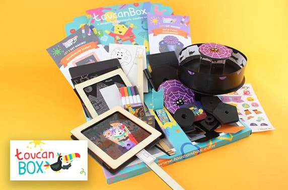 Kids Halloween themed craft box - from £5.95