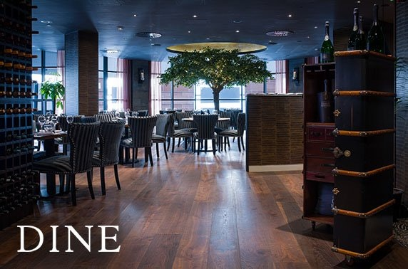 Champagne dining at Dine, City Centre