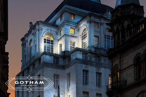 5* Hotel Gotham dining & drinks