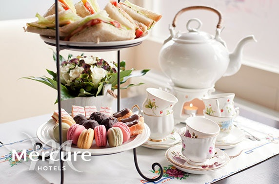 Afternoon tea at Mercure Ayr Hotel
