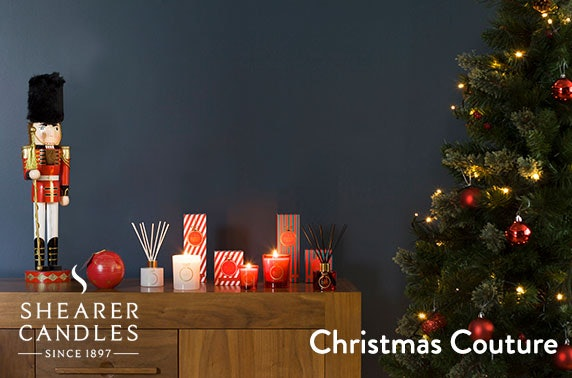 Shearer Candles Christmas collection