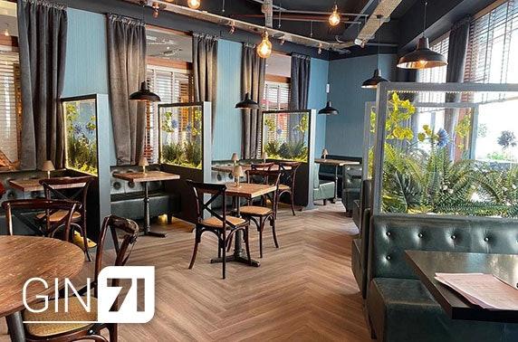 Gin71 Merchant City, 5 course dining
