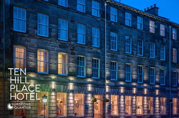 4* Edinburgh City Centre stay