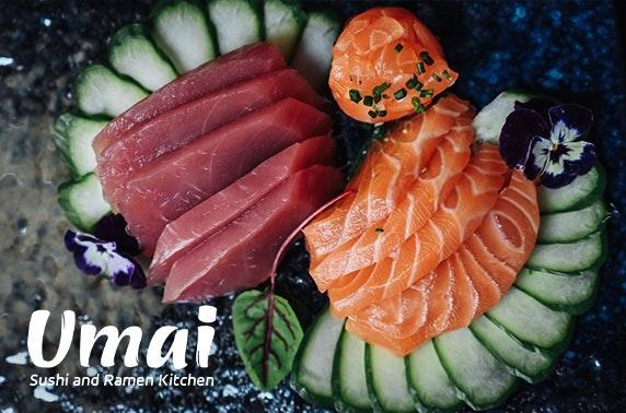 Newly-opened Umai Sushi and Ramen Kitchen