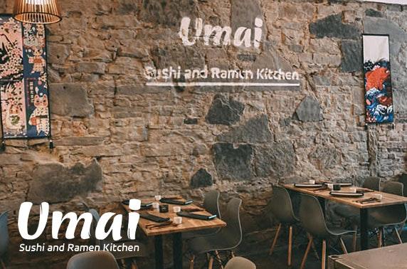 Recently-opened Umai Sushi and Ramen Kitchen