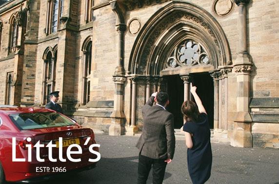 Luxury chauffeur driven journeys in Glasgow and Edinburgh
