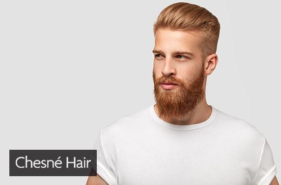 Award-winning Chesne Hair & Barbershop, Merchant City