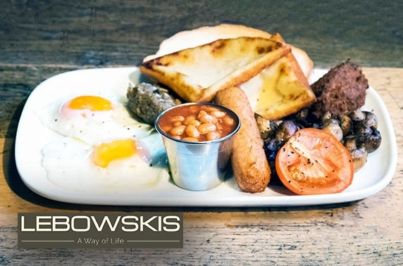 Lebowskis brunch or lunch - £10pp