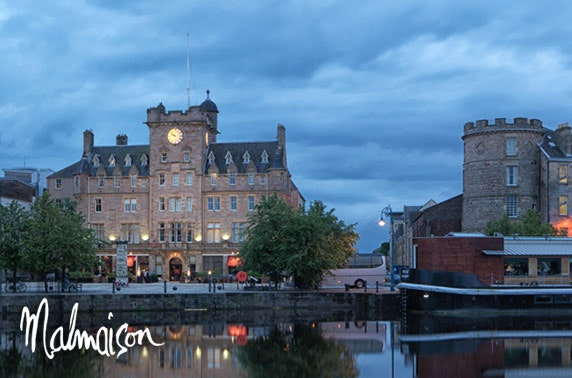 4* Malmaison Edinburgh stay
