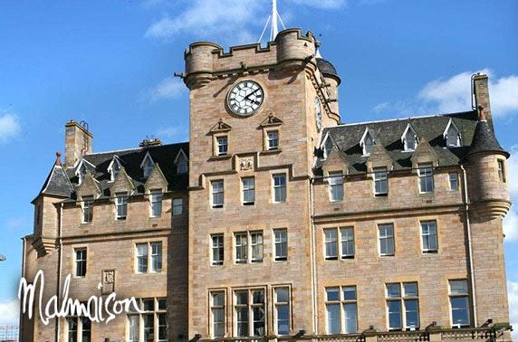 4* Malmaison Edinburgh stay