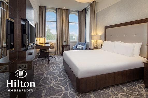 4* Hilton Glasgow Grosvenor DBB - £99