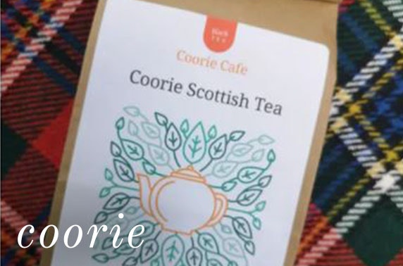 Coorie Cafe takeaway boxes