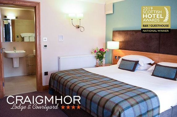 4* Pitlochry getaway - £69