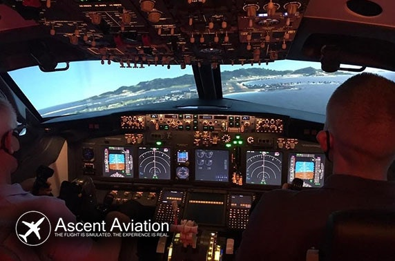 Flight simulator experience  - from £69