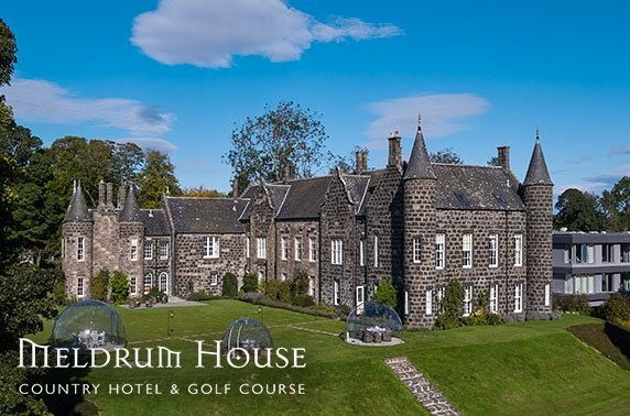 4* Meldrum House Country Hotel afternoon tea