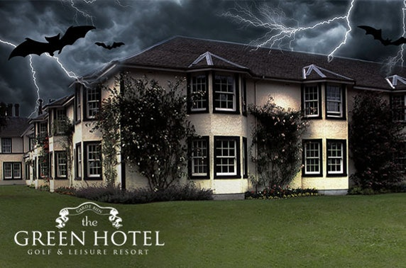 Halloween murder mystery at The Green Hotel